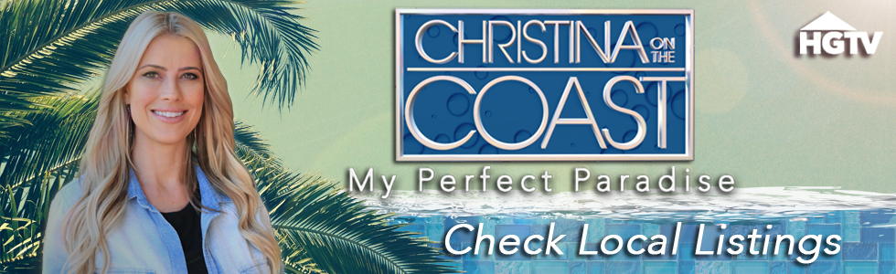 Christina on the Coast: My Perfect Paradise large banner