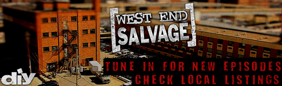 West End Salvage large banner